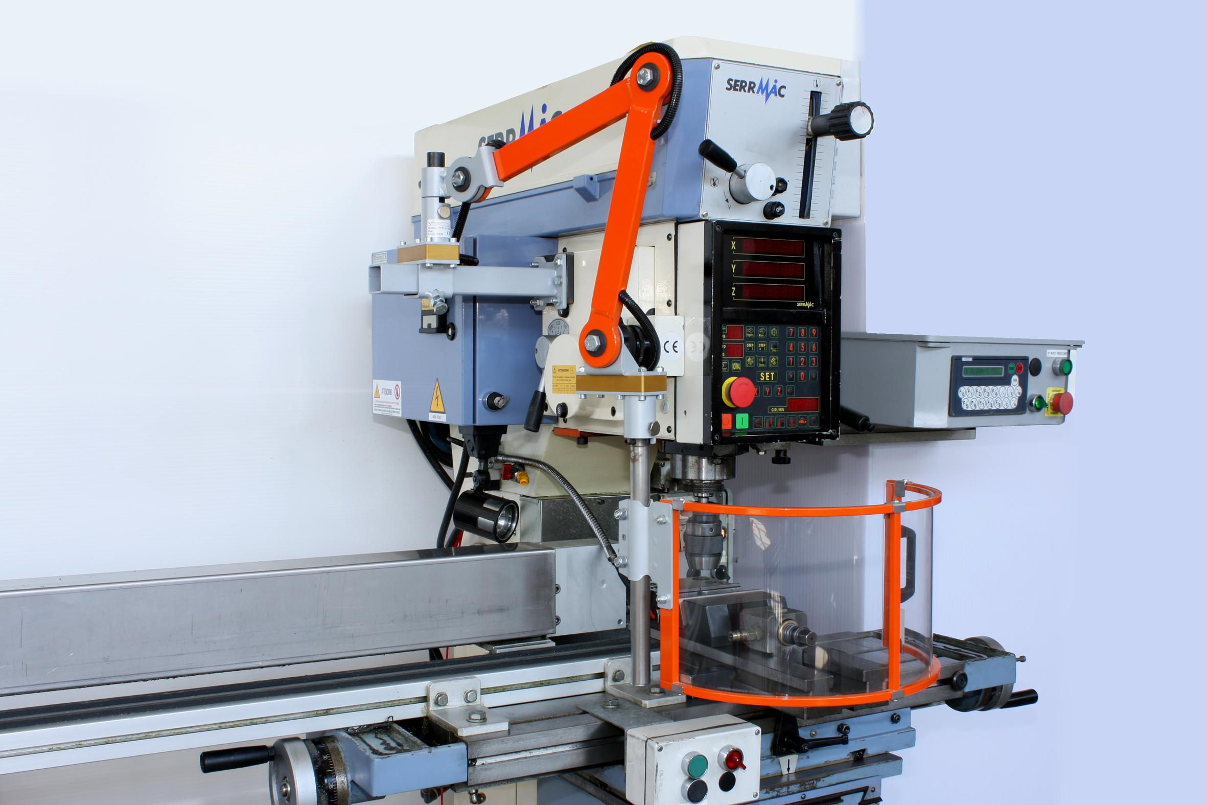 Milling Machine Guard PFR 01