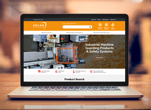Solon Systems New Website