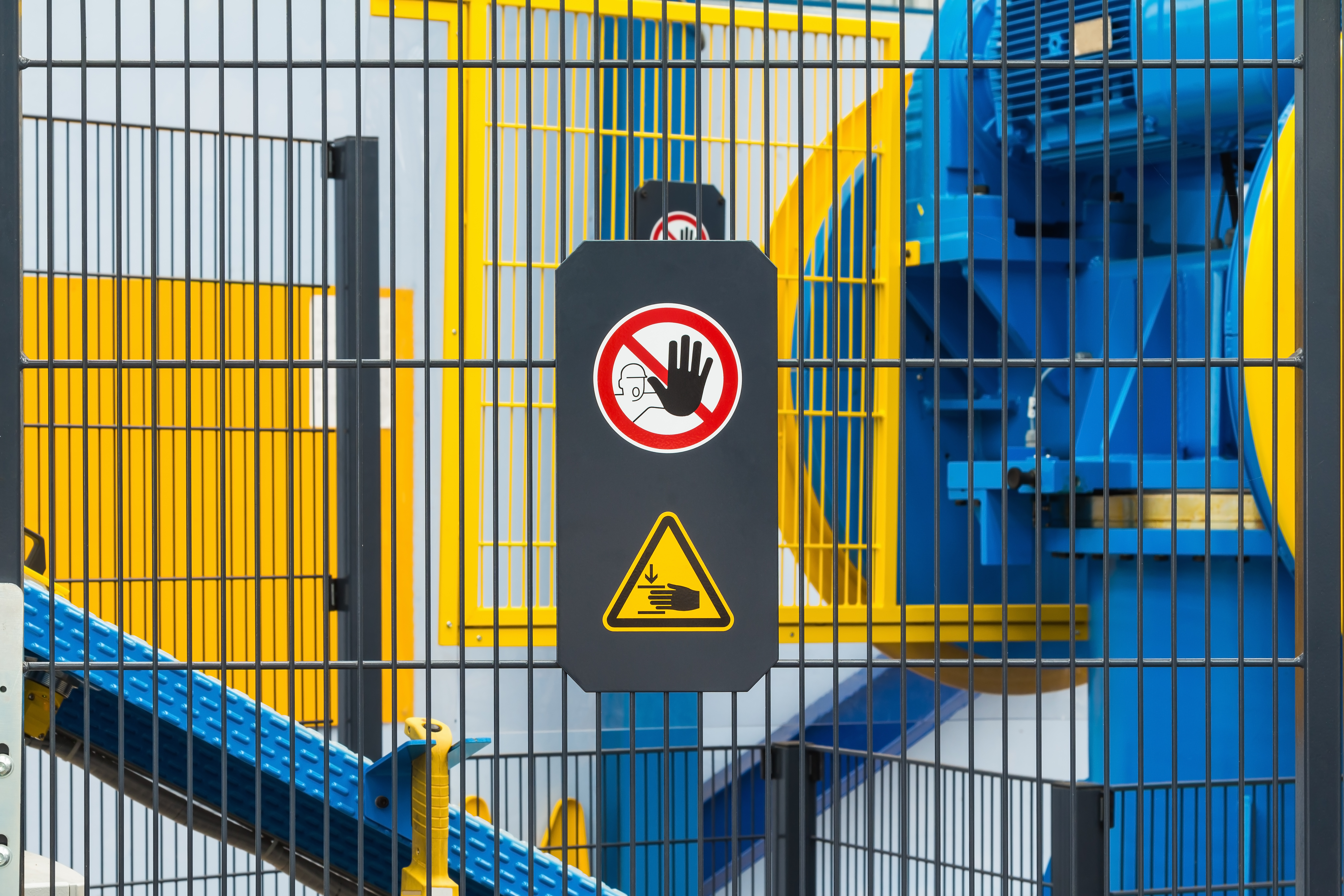 Industrial Perimeter Fence