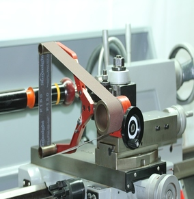 Sanding Belt Holders for Lathes